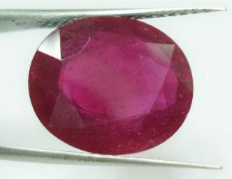 8.94cts Stunning Natural African Red Ruby Gemstone
