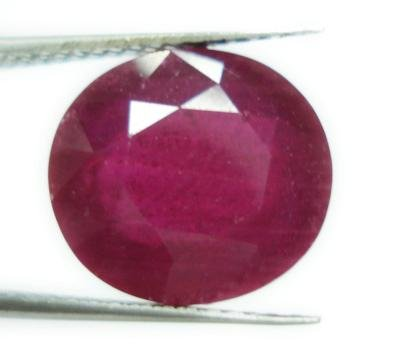 8.56cts Stunning Natural African Red Ruby Gemstone