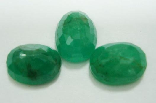 5.96ct stunning natural colombian emerald gemstone lots