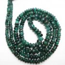 Single Strand Natural Emerald Beade Gemstone Strand 16""