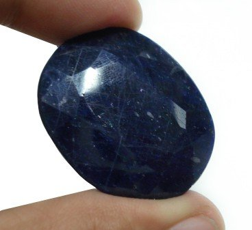 121.00cts Stunning Natural Sapphire Gemstone oval