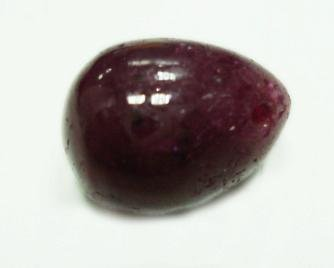 14.45cts stunning Natural Cabochon ruby Gemstone Drop