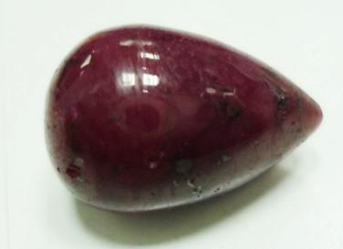 19.50cts stunning Natural Cabochon ruby Gemstone Drop