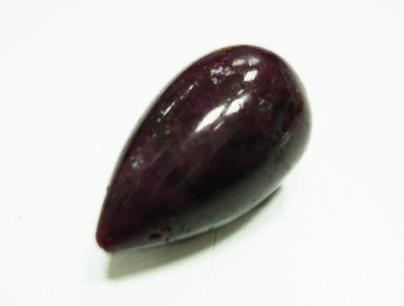 63.65cts stunning Natural Cabochon ruby Gemstone Drop