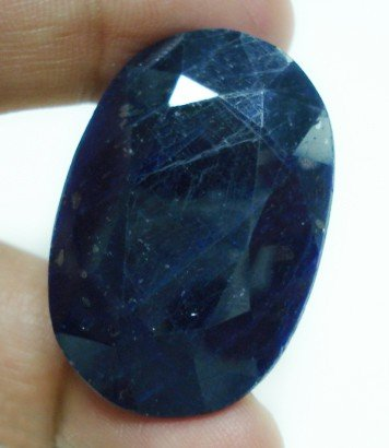 99.40cts Stunning Natural Indian blue Sapphire Gemstone