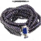 Handmade Blue Sapphire natural beads Gemstone Necklace
