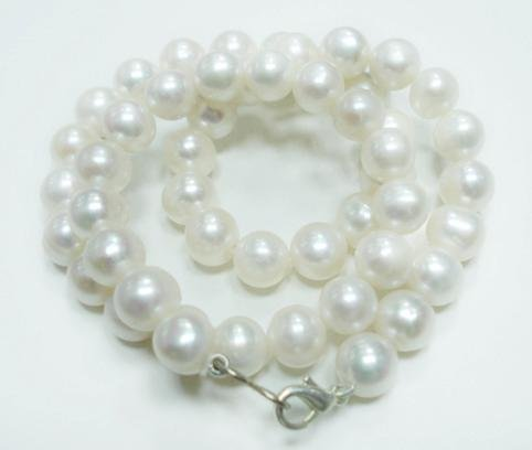 Natural fresh water pearl gemstone Necklace 7-8mm