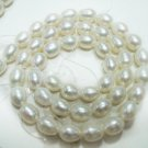 Handmade Natural fresh water pearl gemstone Necklace7mm