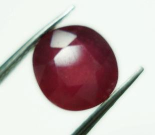 2.60cts stunning natural African Ruby gemstone oval