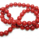Handmade Natural Coral Gemstone Beads Necklace 5.5-6mm