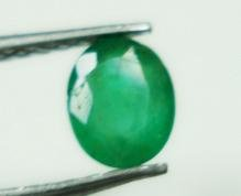 0.41cts Natural Colombian Green Emerald Gemstone Oval
