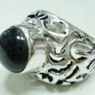 10.48Gm Handcrafted Sun Stone Gemstone & Silver Ring