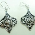 11.45Gms Handcrafted German Silver dangle style Earring