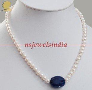 Single Strand Natural Fresh Water Pearl Gemstone string