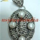 15.36gms natural fresh water pearl gemstone pendant