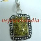 9.39gms Magnificent natural gemstone & silver pendant