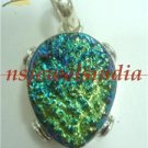 11.85gms Magnificent natural gemstone & silver pendant