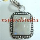 14.50gms Magnificent natural gemstone & silver pendant
