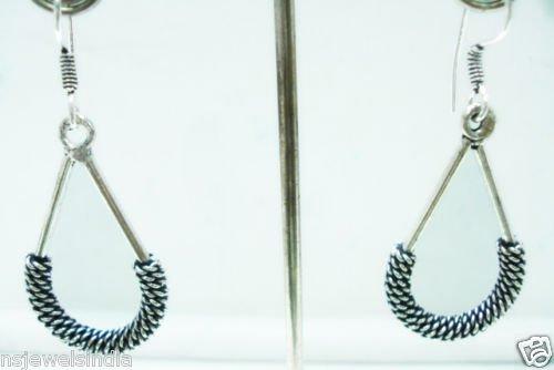 7.10 gms Magnificent Designer German silver Earrings