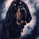 'Portrait of a Bloodhound'