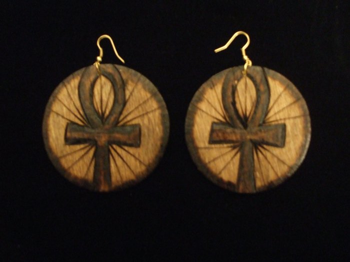 Ankh flame (stained)