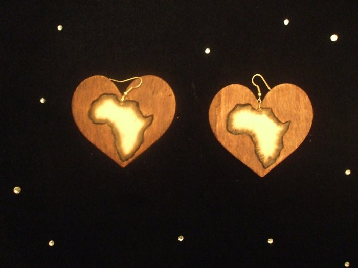 African Heart (stained)