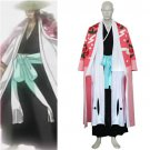 Bleach 8th Division Captain Kyouraku Shunsui Cosplay Costume