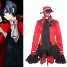 Black Butler Ciel Halloween Cosplay Costume