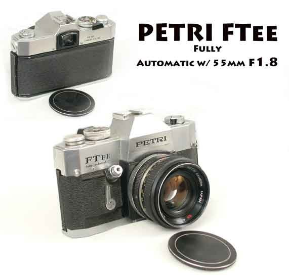 PETRI FTee Fully Automatic w/ 55mm f1.8