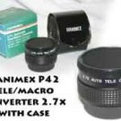 Hanimex AUTO tele macro converter / EXT. TUBE (PS)  2.7x