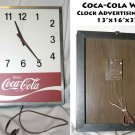 Coca-Cola Coke Wall Clock Advertising Sign