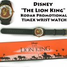 "!sold!  Disney ""The Lion King"" Kodak Promotional TIMEX WRIST WATCH"