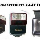 Canon Speedlight 244T Flash t mount