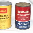 Kodak D-76 ,Microdl-X Replenisher Ansco Fine Grain Developer Acufine Film Developer & Replenisher