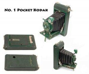 Vintage Antique No. 1 Pocket Kodak