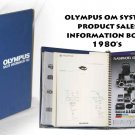 Olympus OM System product sales information book 1980's