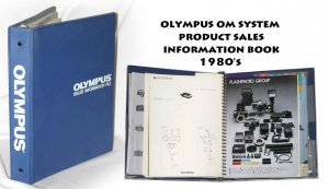 Olympus OM System product sales information book 1980�s