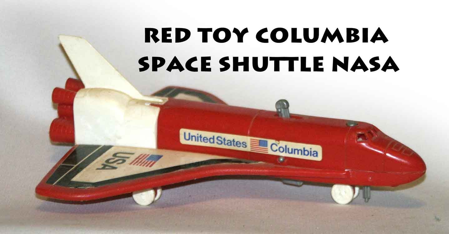 !SOLD! BUY WAS NOT PAID red toy columbia space shuttle nasa -