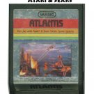 1982 Imagic Atlantis For use with Atari & Sears Video Game Systems