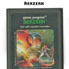 Berzerk Atari 2600 Video Game CX2650 1982