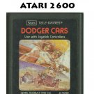 DODGER CARS SEARS ATARI 2600 7800