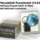 Polaroid Flashgun #268 Flash Unit -MInt w/Box