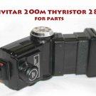 Vivitar  thyristor 285 flash with  Sensor Vari-Power Adapter Knob  Flash for parts needs repair