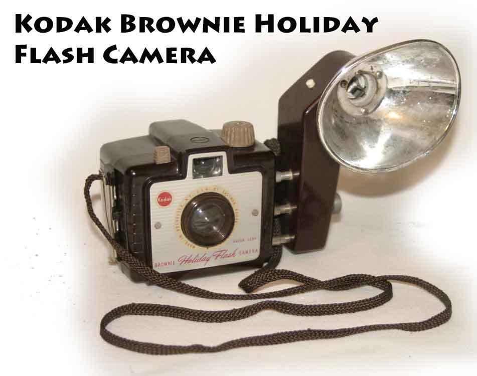 kodak brownie holiday flash camera. Black Bedroom Furniture Sets. Home Design Ideas