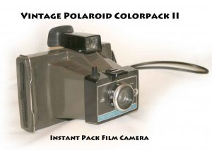 Vintage Polaroid Colorpack II Instant Pack Film Camera