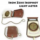 Vintage Zeiss Ikon Ikophot Light Meter with Leather Case