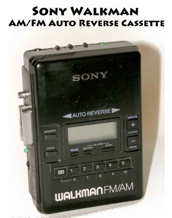 Deluxe Auto Parts >> !Parts! Sony Walkman AM/FM Auto Reverse Cassette Player WM-AF62 - display or Parts