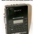 !Parts!  Sony Walkman AM/FM Auto Reverse Cassette Player WM-AF62 - display or Parts