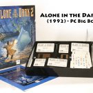 "Alone in the Dark 2 (PC, 1994) Complete Big Box 3.5"" Disks RARE"