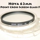 Hoya 62mm filter CS Cross Screen Star 4